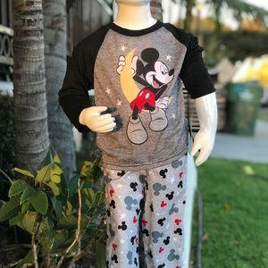Mickey misuse pajamas set